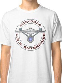 USS Enterprise Logo - Star Trek - NCC-1701-A (Movie Colour) Classic T-Shirt