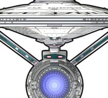 USS Enterprise Logo - Star Trek - NCC-1701-A (Movie Colour) Sticker