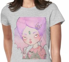 The Little Time Traveler Womens Fitted T-Shirt