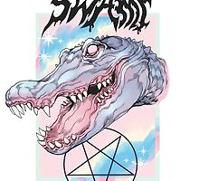 SWAMP BABE by Witnesstheabsurd Illustration