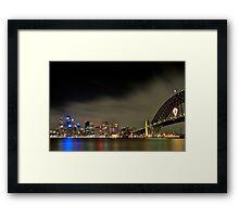 Sydney Harbour Bridge 2006 Framed Print
