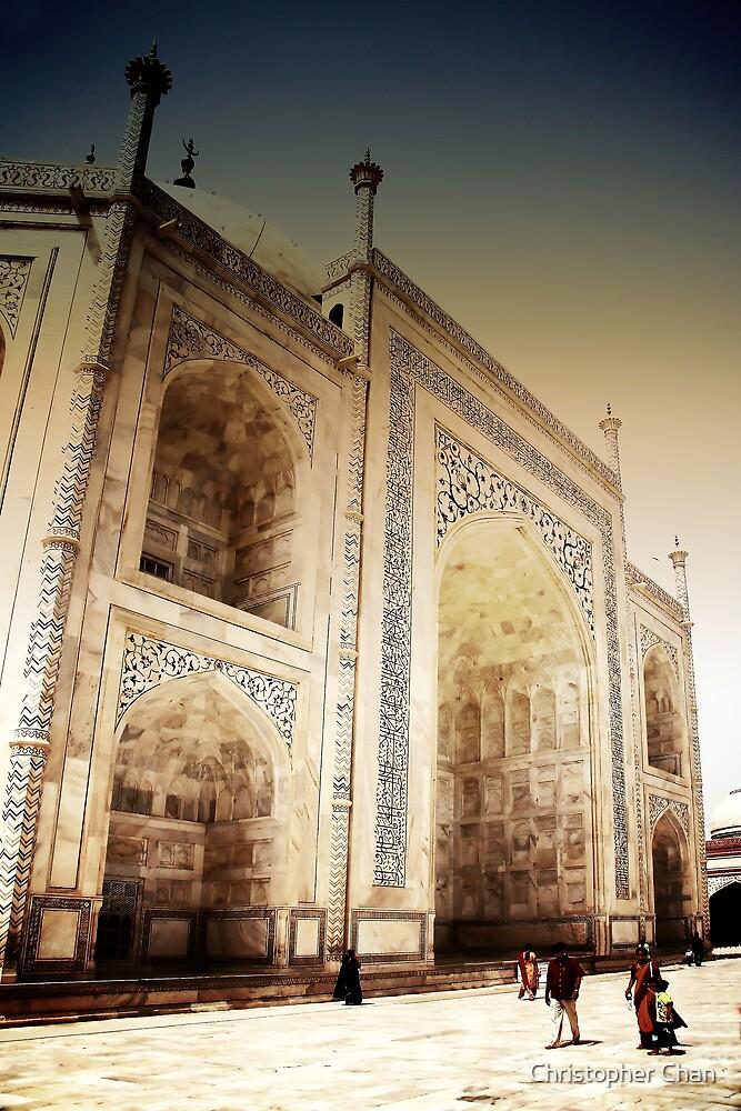 Taj Mahal by Christopher Chan