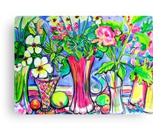 Window Still Life Canvas Print