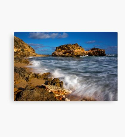 Portsea Back Beach Canvas Print