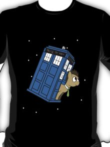 The Doctor and his TARDIS T-Shirt