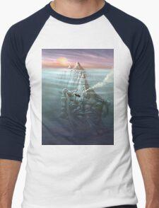 T_Shirt: The Schnarly Men's Baseball ¾ T-Shirt