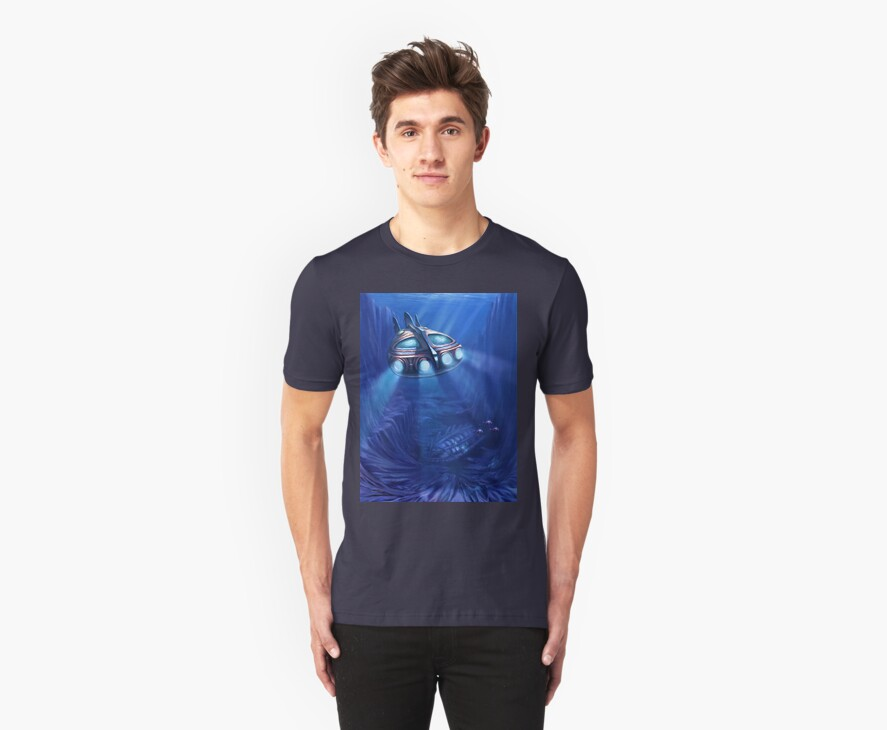 T-Shirt: The Wreck by Tom Godfrey