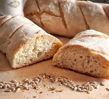 Homemade bread by Giuseppe Esposito