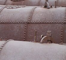 Rusty old boilers, Blinman copper mines, Flinders Ranges South Australia by Craig Watson