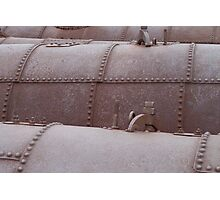 Rusty old boilers, Blinman copper mines, Flinders Ranges South Australia Photographic Print