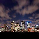 Sydney Skyline by Stephen Kilburn