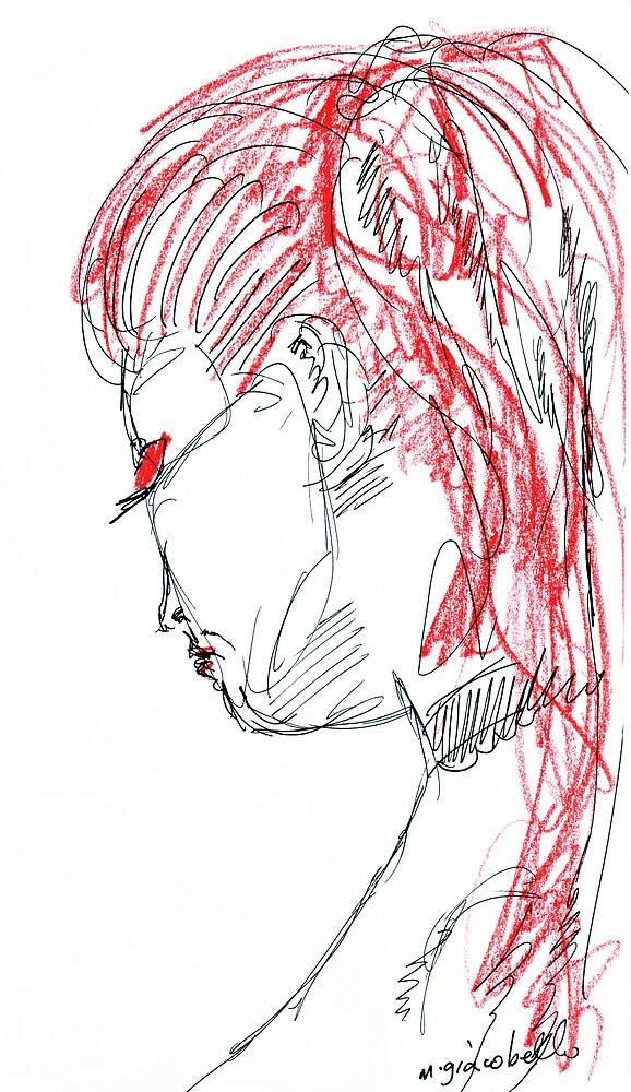 Redhead 4 by michelle giacobello