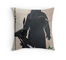 Streets of Paris, 2006 Throw Pillow