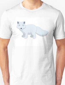 Cute cartoon arctic fox Unisex T-Shirt