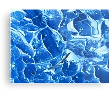 Glass Shards Metal Print