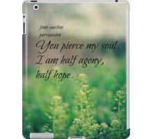 Austen Agony Hope iPad Case/Skin