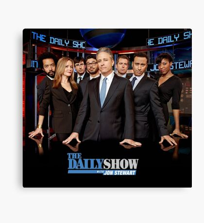 The Daily Show Canvas Print