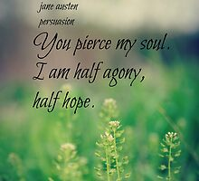 Austen Agony Hope by Kimberose