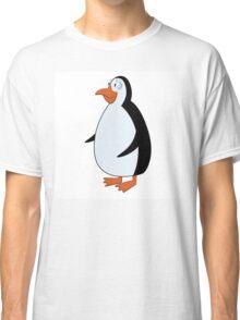 Cute smiling cartoon penguin standing Classic T-Shirt