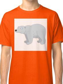 Adorable cartoon polar bear Classic T-Shirt