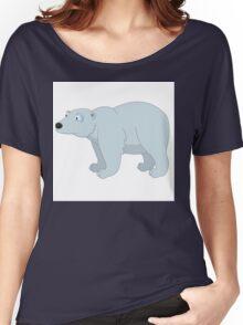 Adorable cartoon polar bear Women's Relaxed Fit T-Shirt