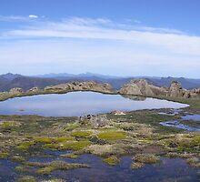 Mt Ossa Tasmania Australia by Jason Kerr