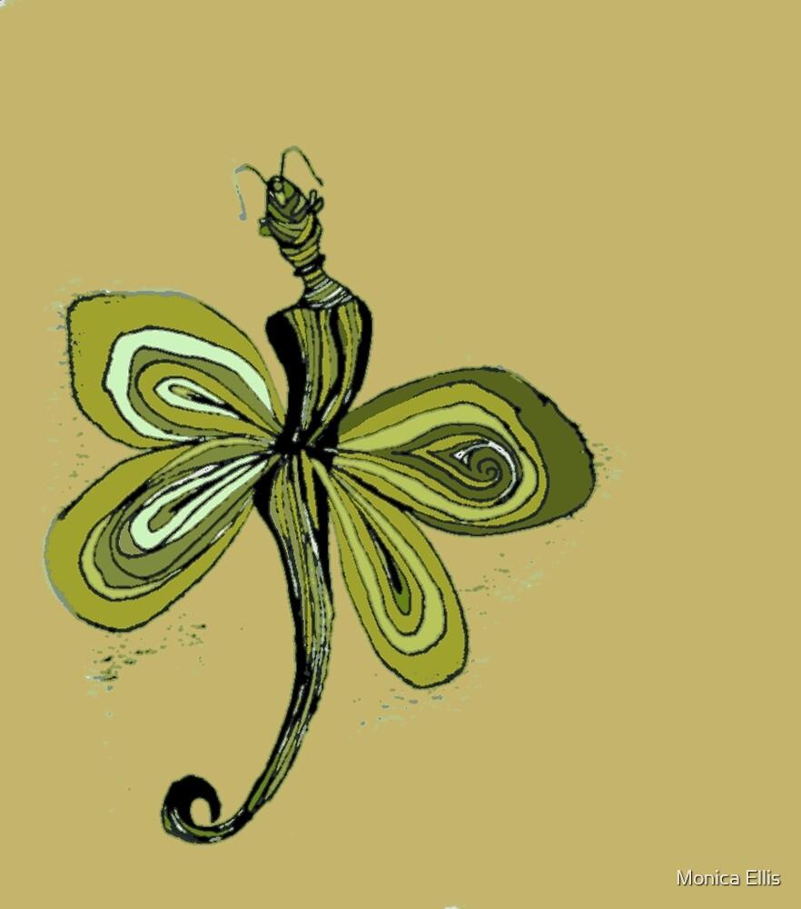 Yellow Fairy by Monica Ellis