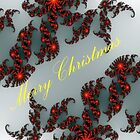 Merry Christmas #1  (Card) by C J Lewis