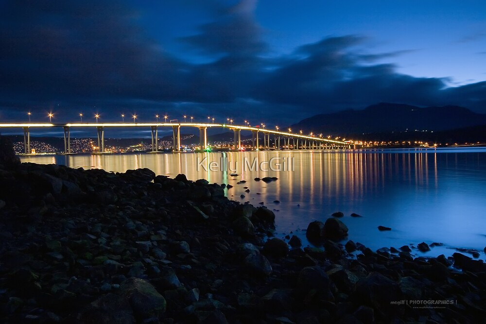 Tasman Bridge  by Kelly McGill