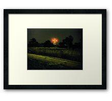 The dark tower urbex Framed Print