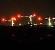 Long Exposure Cranes urbex by FXDS