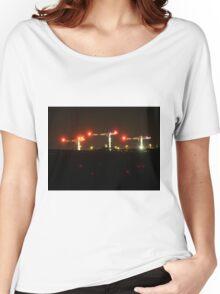 Long Exposure Cranes urbex Women's Relaxed Fit T-Shirt