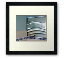 Corner Reflector Framed Print