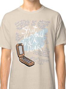 TWEWY Joshua Kiryu Catchphrases Classic T-Shirt