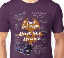 TWEWY - Neku Sakuraba Catchphrases Unisex T-Shirt