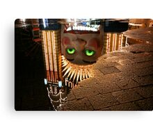 Luna Park Reflection Canvas Print