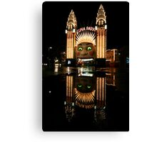 Luna Park Reflection 2 Canvas Print