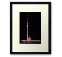 WDV - 412 - Cathedral at Marrow's Fell Framed Print