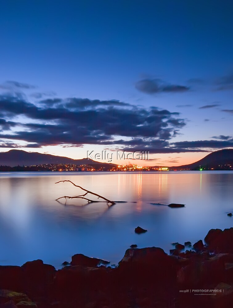 Derwent River Sunset by Kelly McGill