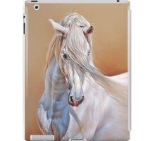 """Andalusian stallion"" - close-up iPad Case/Skin"