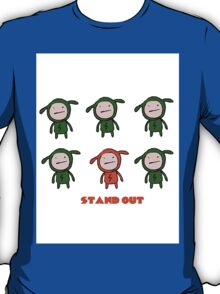 stand out w/ text T-Shirt