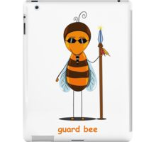 bee guard  iPad Case/Skin