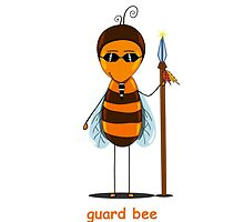 bee guard  by Ann-Julia