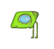 Funny Alien Monster Character Photographic Print