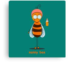 nanny bee  Canvas Print