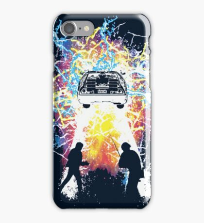 2 time travelers iPhone Case/Skin