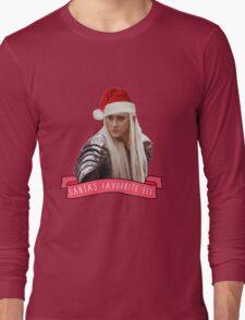 Santa's Favourite Elf - Thranduil Long Sleeve T-Shirt