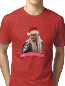 Santa's Favourite Elf - Thranduil Tri-blend T-Shirt