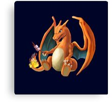 Charizard - Marshmallow Canvas Print