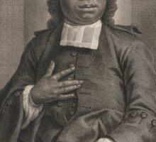 Medievalpoc: Portrait of Jacobus Joannes Eliza Capitein Sticker